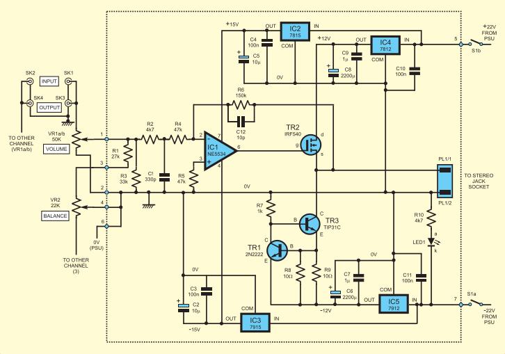 AmplifierCircuitDiagram Ne Schematic on